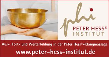 Peter Hess Institut Klangmassage www.peter-hess-institut.de